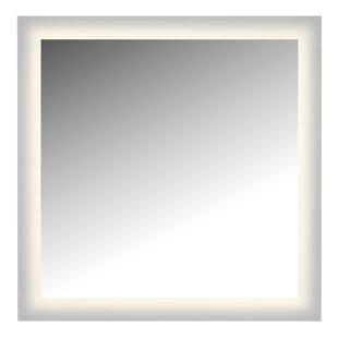 Latitude Run Non-Dimmable LED Glow Bathroom Wall Mirror