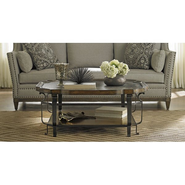 Sofitel Coffee Table with Tray Top by Astoria Grand