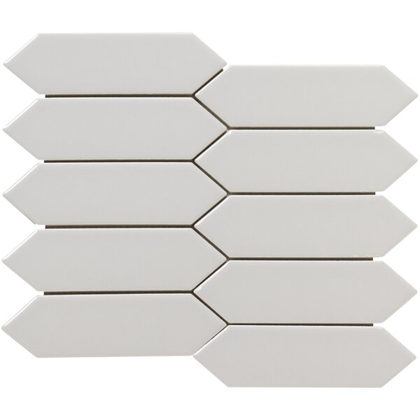Elixir 2 x 4 Porcelain Mosaic Tile in Gray by Emser Tile