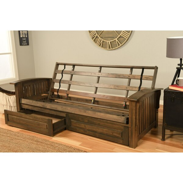 Clinchport Storage Futon and Mattress by Harriet Bee