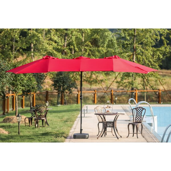 Eisele 9' W X 15' D Rectangular Market Umbrella By Breakwater Bay by Breakwater Bay Looking for