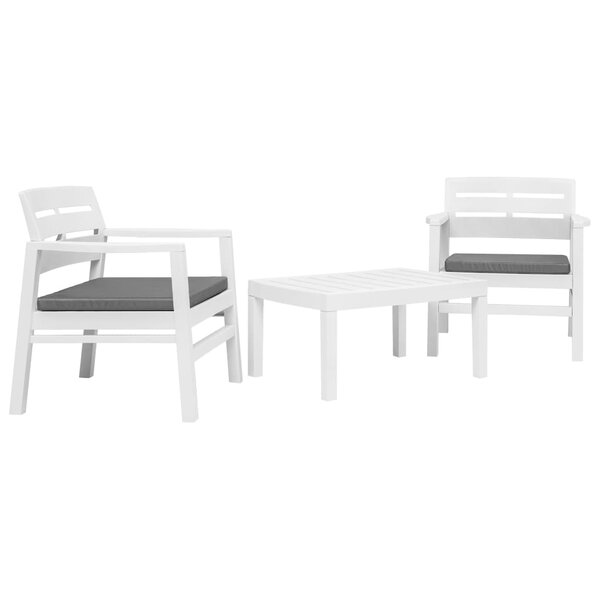 Creager 3 Piece Seating Group with Cushions by Highland Dunes