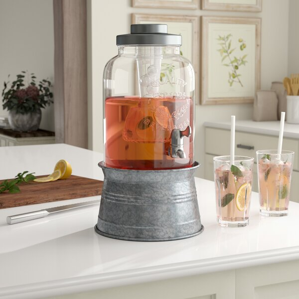 Hoyleton Beverage Dispenser by Laurel Foundry Modern Farmhouse
