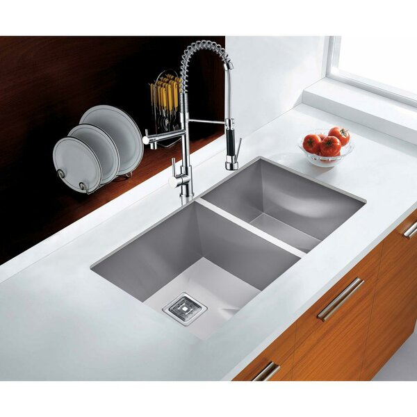 32 L x 18 W Undermount  Kitchen Sink by AKDY