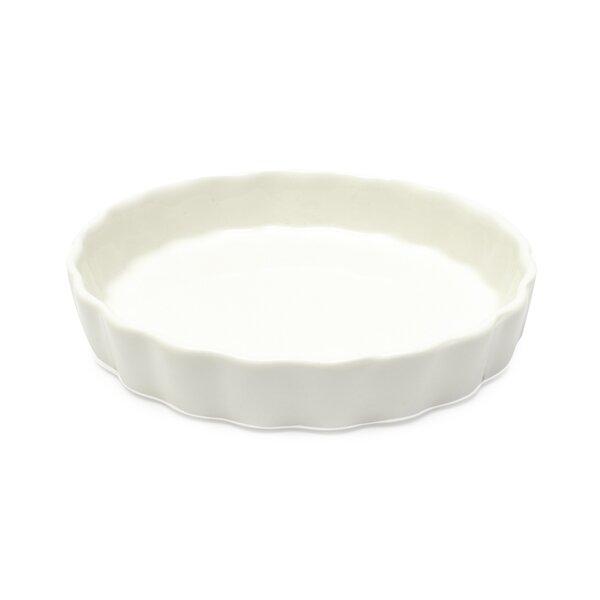 White Basics Flan Dish (Set of 6) by Maxwell & Williams