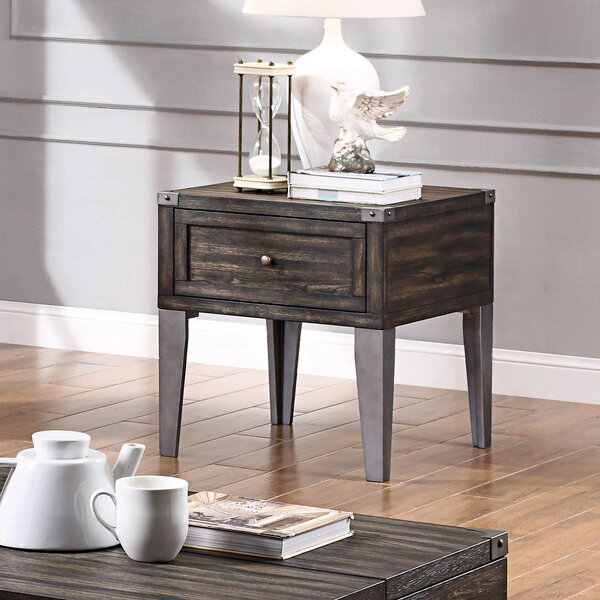 Sorens End Table with Storage by Gracie Oaks Gracie Oaks