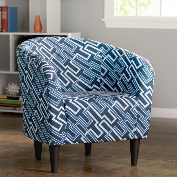 Caspar Barrel Chair by Ebern Designs