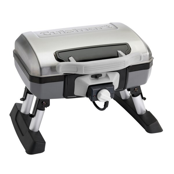 Outdoor Tabletop Portable Electric Grill By Cuisinart.