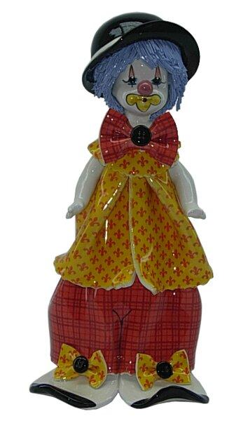 Zampiva Authentic Shelf Standing Clown Figurine by Three Star Im/Ex Inc.