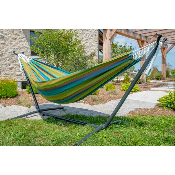 Double Tree Hammock with Stand by Vivere Hammocks Vivere Hammocks