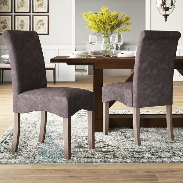 Marla Upholstered Dining Chair (Set of 2) by Mistana Mistana