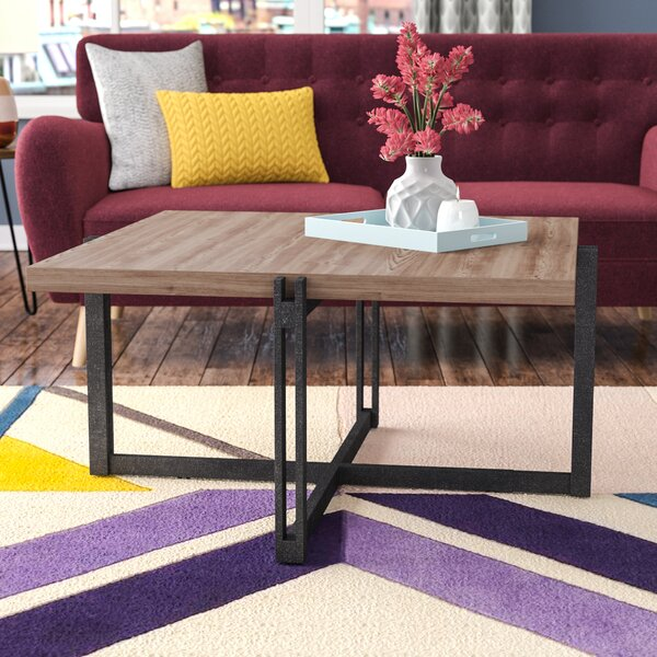Baran Distressed Coffee Table by Modern Rustic Interiors