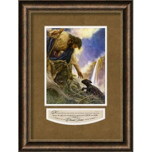 Neither Height, Nor Depth by Nathan Greene Framed Painting Print by Carpentree