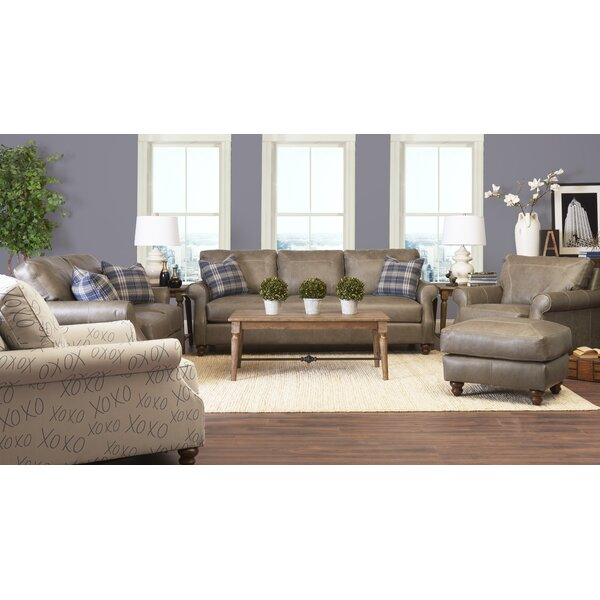 Belloreid Leather Configurable Living Room Set by Canora Grey