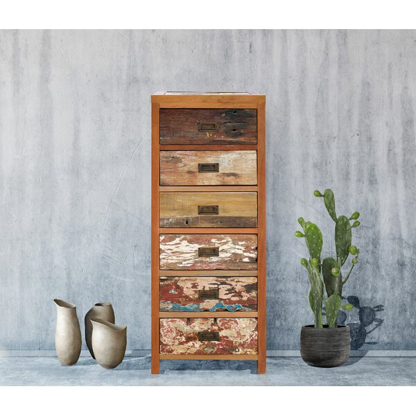 Barnes 6 Drawer Standard Dresser by Loon Peak