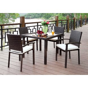 Annette 5 Piece Dining Set By Red Barrel Studio