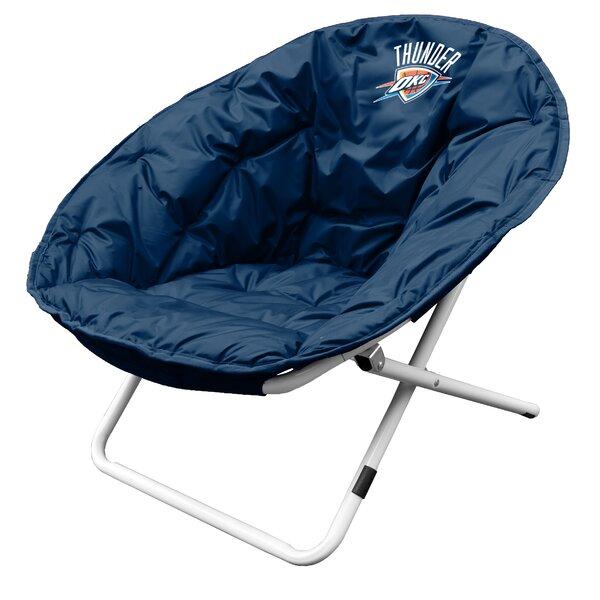 NBA Sphere Papasan Chair by Logo Brands