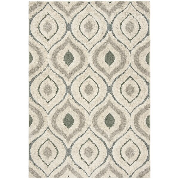 Wooster Cream/Light Blue Area Rug by George Oliver