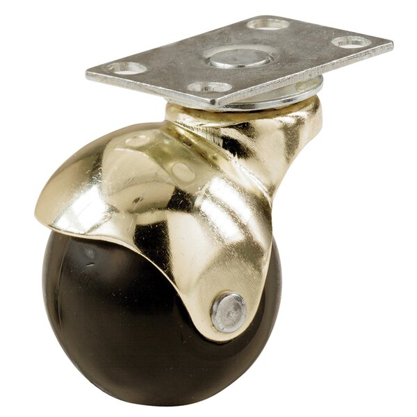 Hooded Plate Ball Caster by Shepherd