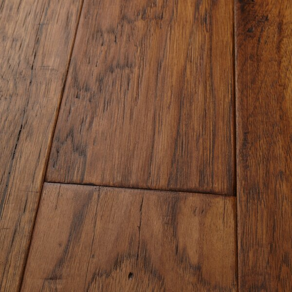 Mountain View 5 Engineered Hickory Hardwood Flooring in Autumn by Mannington