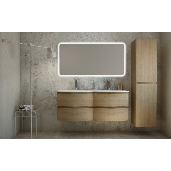 Rigmar 53 Wall-Mounted Single Bathroom Vanity Set