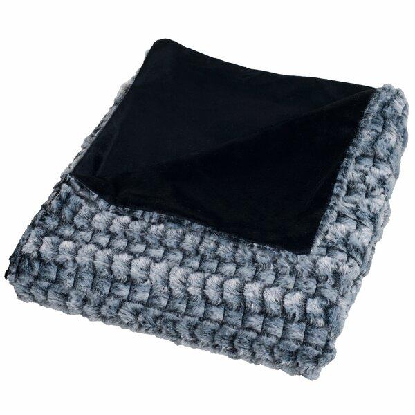 Penn Striped Throw Blanket by Wade Logan