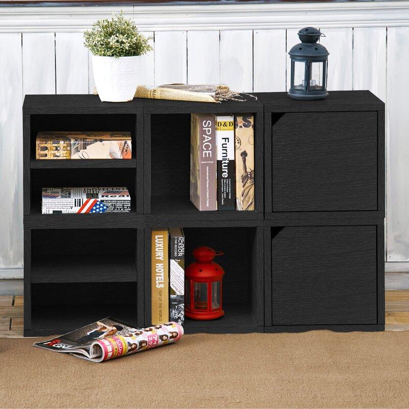 Connect Cubbies Stackable Storage Cube Unit Bookcase