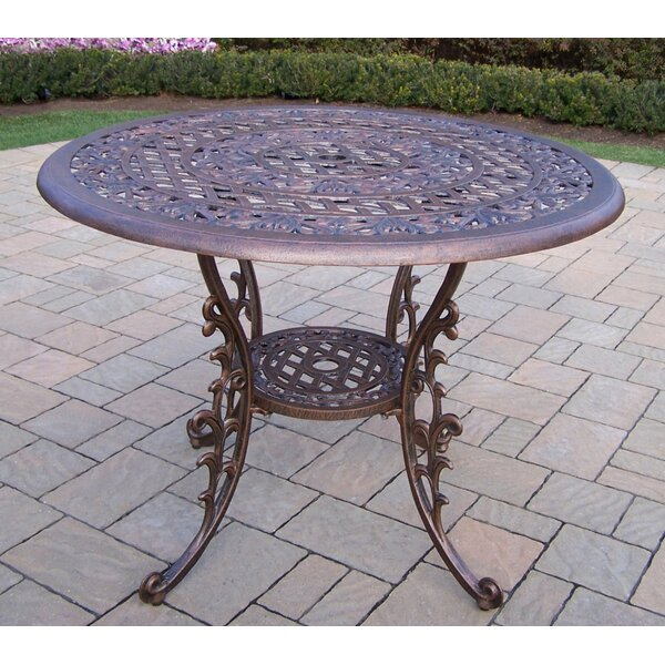 Mcgrady Metal Dining Table by Astoria Grand