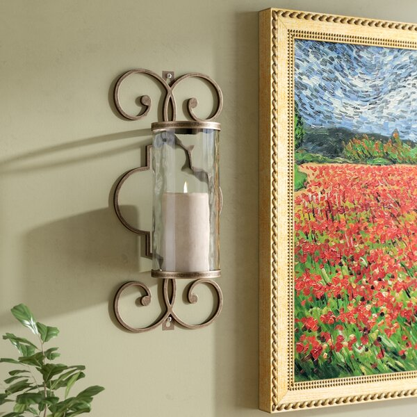 Mayweather Metal Sconce by Astoria Grand