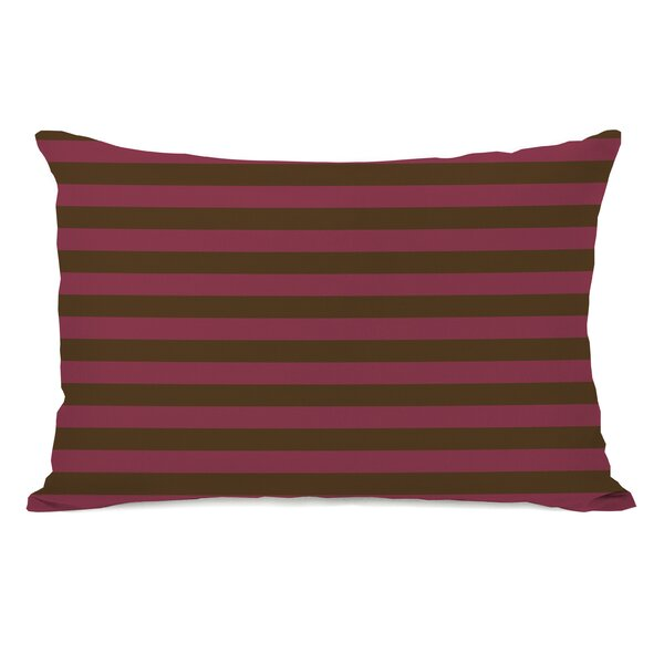 Plain Stripe Throw Pillow by One Bella Casa