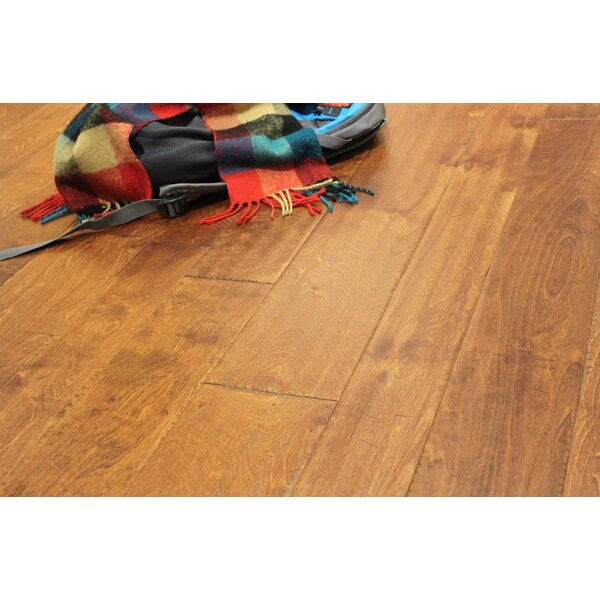Random Width Engineered Birch Hardwood Flooring in Aleutian by Albero Valley