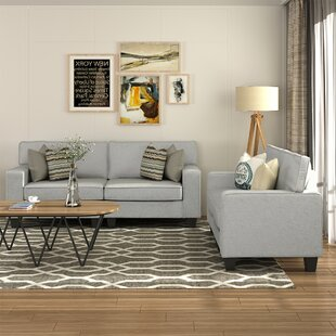 Ehrentrudis 2 Piece Living Room Set by Latitude Run®