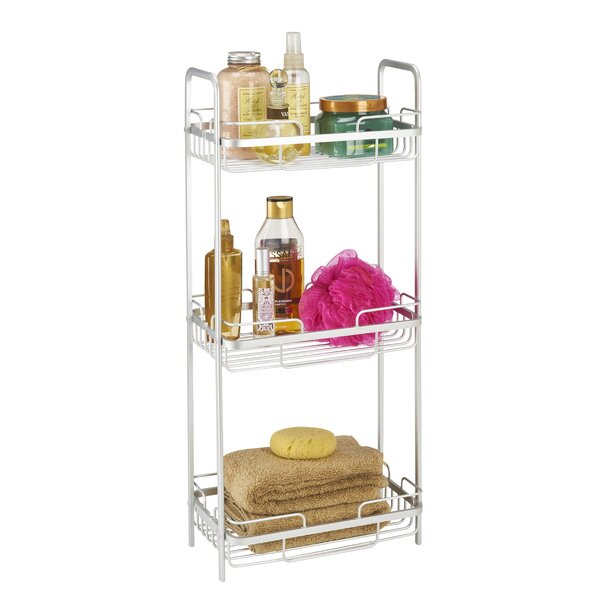 11.42 W x 25.79 H Bathroom Shelf by Bath Bliss