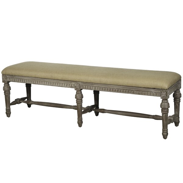 Hackensack Upholstered Bench by Bloomsbury Market