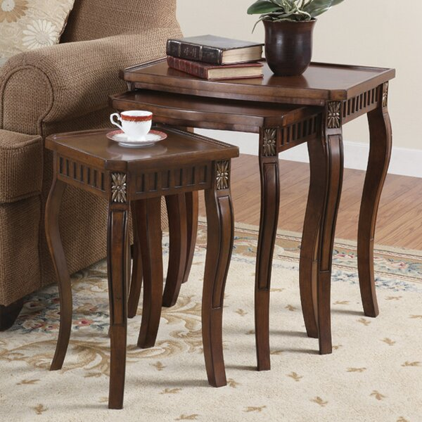 States 3 Piece Nesting Tables by Alcott Hill