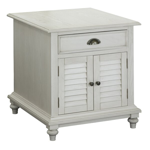 Violetta End Table With Storage By August Grove