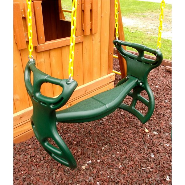 Heavy Duty Horse Glider with Coated Chain by Eastern Jungle Gym