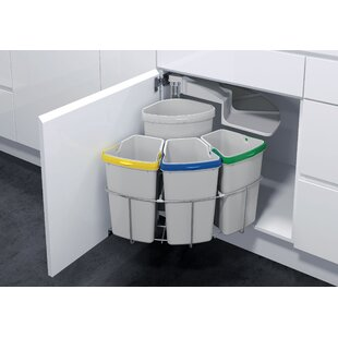 Low priced Oeko 4 Piece Pull Out Trash Can By Vauth-Sagel