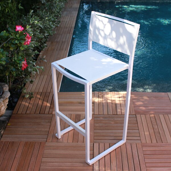 Pure 28 Patio Bar Stool (Set of 4) by Infinita Corporation