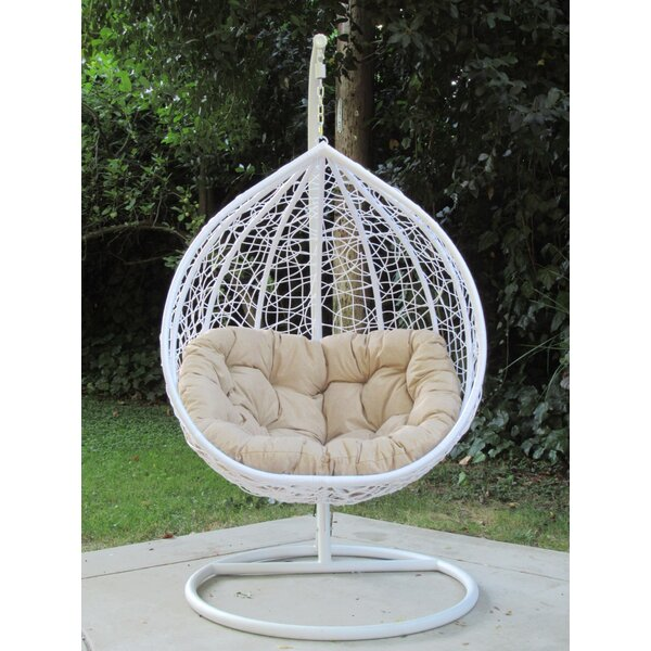 Yorba Hanging Swing Chair with Stand by Brayden Studio