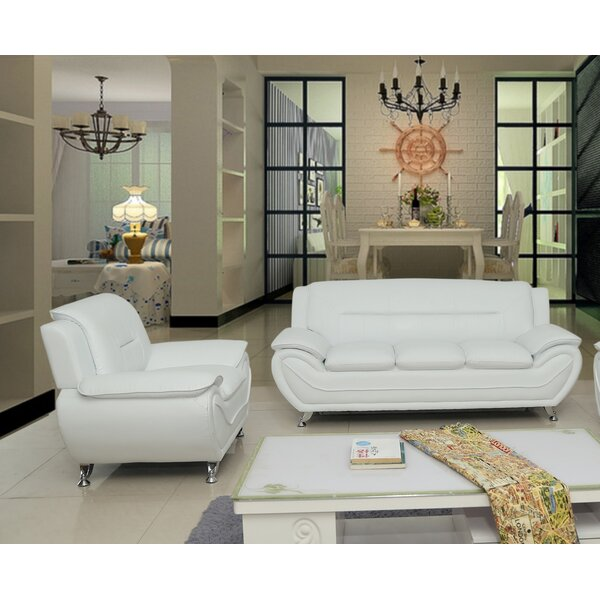 Best Reviews Segura 2 Piece Living Room Set by Orren Ellis