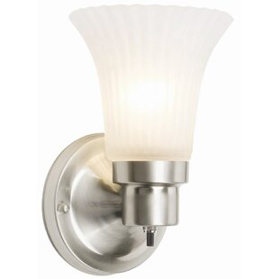 Compare prices Billingsley 1-Light Wall Sconce By Andover Mills