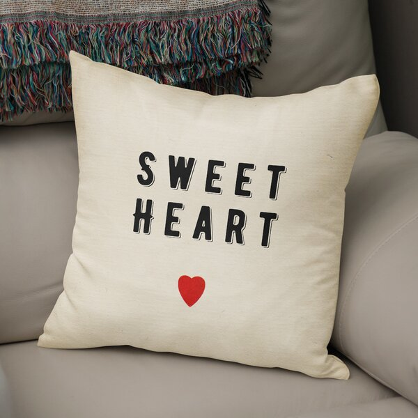 Sweet Heart Indoor Accent Pillow by KAVKA DESIGNS
