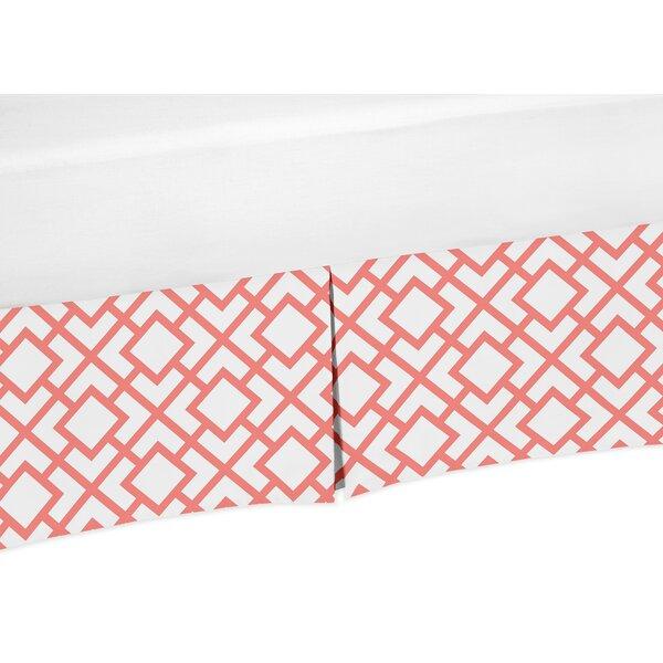Mod Diamond Crib Skirt by Sweet Jojo Designs