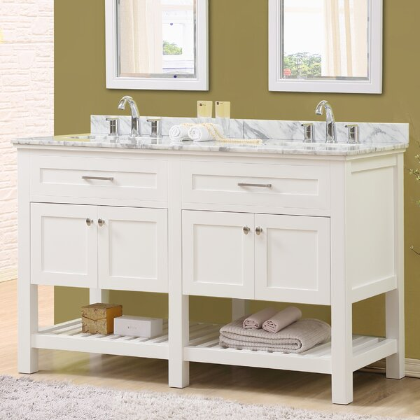 Ferdinand 60 Double Bathroom Vanity Set by Latitude Run