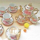 Hartlyn Porcelain Tea Set for 6 People