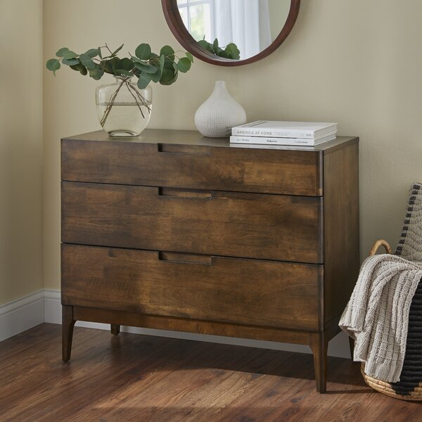 Bump 3 Drawer Dresser By Corrigan Studio by Corrigan Studio Modern