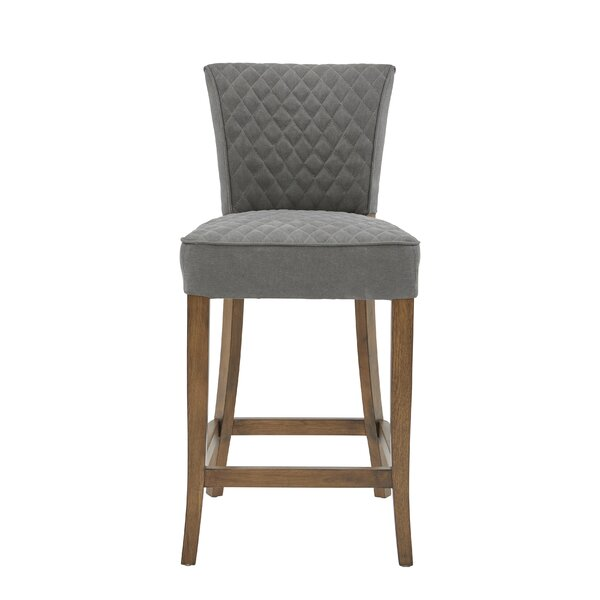 Highline Quilted Bar Stool by Gracie Oaks Gracie Oaks