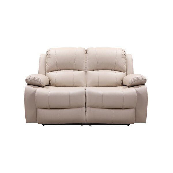 Timmerman Leather Reclining Loveseat by Red Barrel Studio