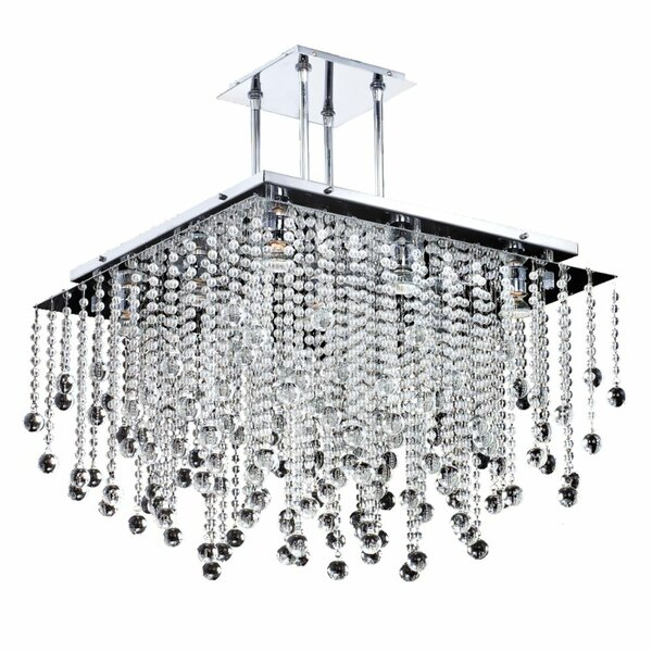Cohen-Arazi 9-Light Unique / Statement Tiered Chandelier By Everly Quinn